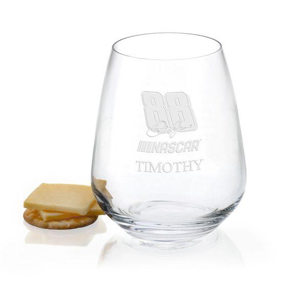 Dale Earnhardt Jr. Stemless Wine Glass