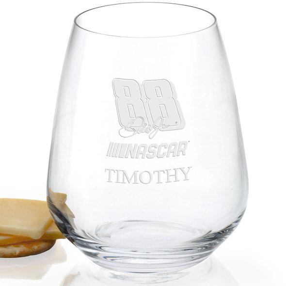 Dale Earnhardt Jr. Stemless Wine Glass - Image 2