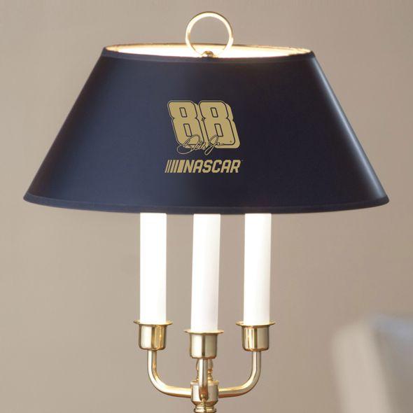 Dale Earnhardt Jr. Lamp in Brass & Marble - Image 2