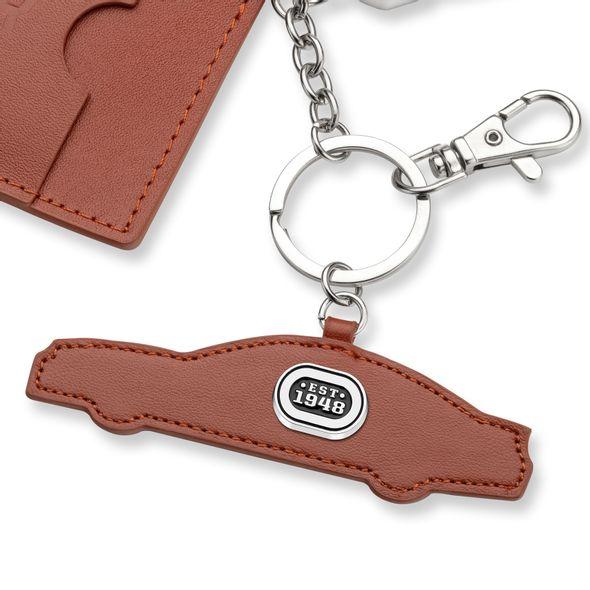NASCAR Leather Card Holder and Key Ring - Image 2