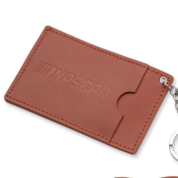 NASCAR Leather Card Holder and Key Ring - Image 3