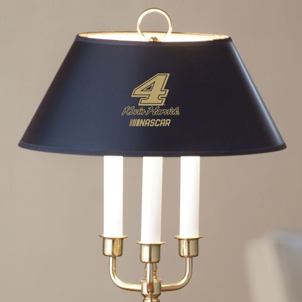 Kevin Harvick Lamp in Brass & Marble - Image 2