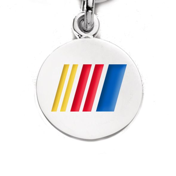 NASCAR Sterling Silver Charm with Enamel