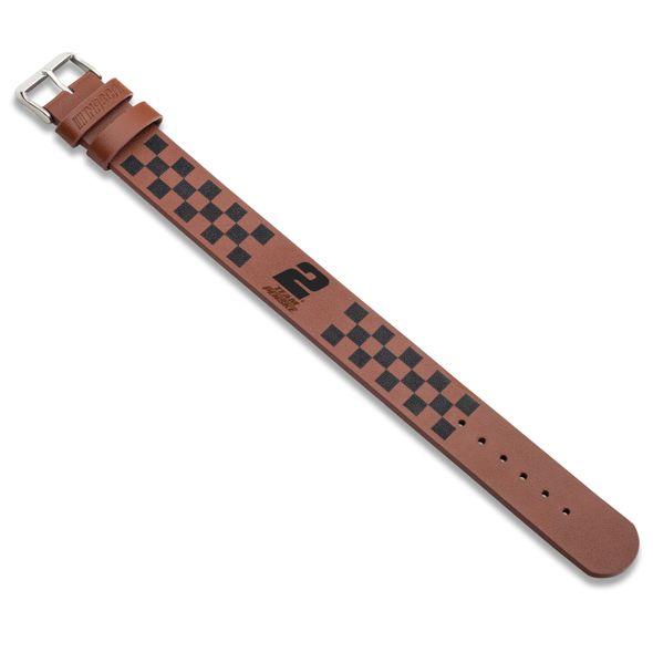Brad Keselowski Leather Cuff Bracelet with #2