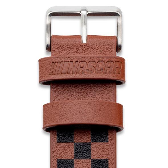 Brad Keselowski Leather Cuff Bracelet with #2 - Image 3