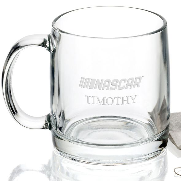 NASCAR Glass Coffee Mug - Image 2