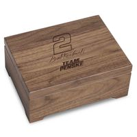 Brad Keselowski Solid Walnut Collector's Box