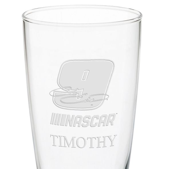 Chase Elliott 20 oz Pilsner Glass - Image 3