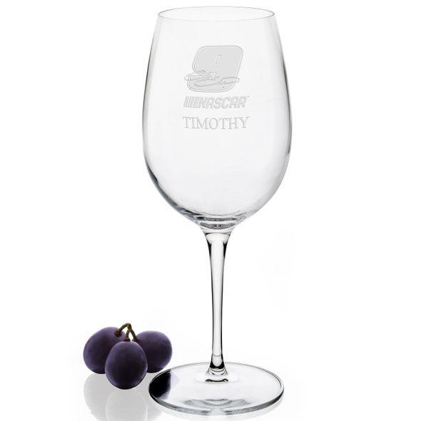 Chase Elliott Red Wine Glass - Image 2