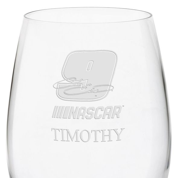 Chase Elliott Red Wine Glass - Image 3