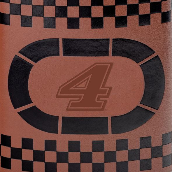 Kevin Harvick Retro Leather Flask - Image 2