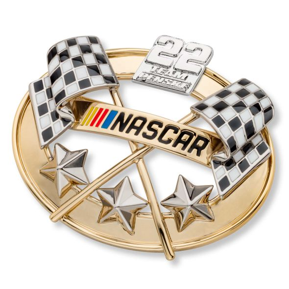 Joey Logano Brooch Pin with #22 - Image 1