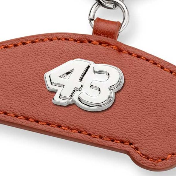 Bubba Wallace Leather Card Holder and Key Ring - Image 2