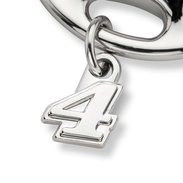 Kevin Harvick Steering Wheel Key Ring with #4 Charm - Image 2