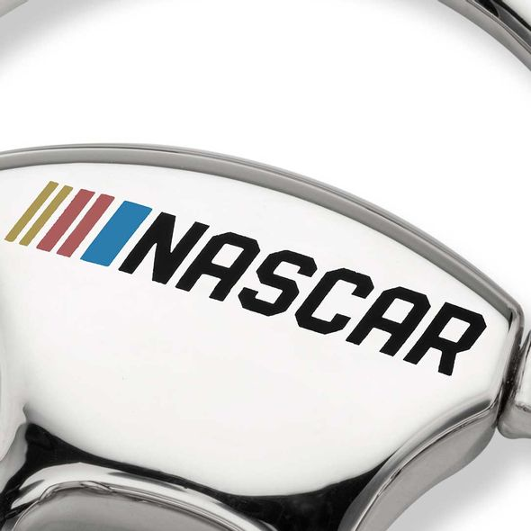 Kevin Harvick Steering Wheel Key Ring with #4 Charm - Image 3