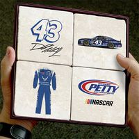 Bubba Wallace Marble Coasters