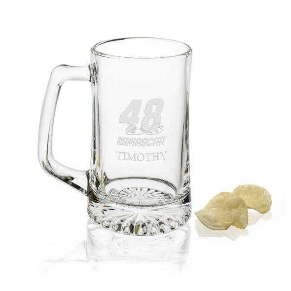 Jimmie Johnson 25 oz Beer Mug