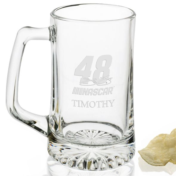 Jimmie Johnson 25 oz Beer Mug - Image 2