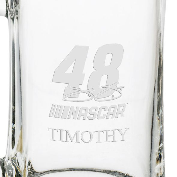 Jimmie Johnson 25 oz Beer Mug - Image 3
