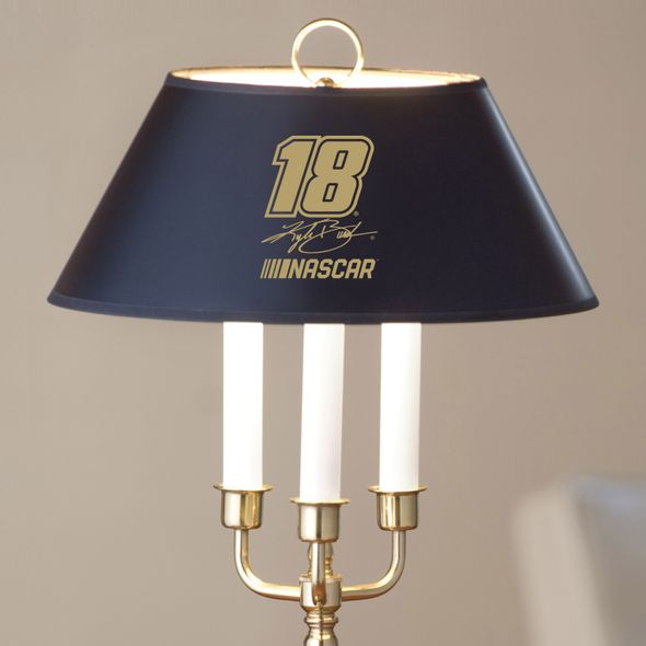Kyle Busch Lamp in Brass & Marble - Image 2