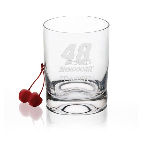 Jimmie Johnson Glass Tumbler