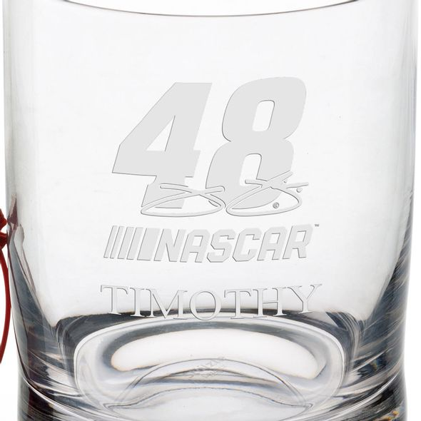 Jimmie Johnson Glass Tumbler - Image 3