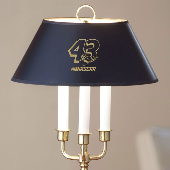 Bubba Wallace Lamp in Brass & Marble - Image 2