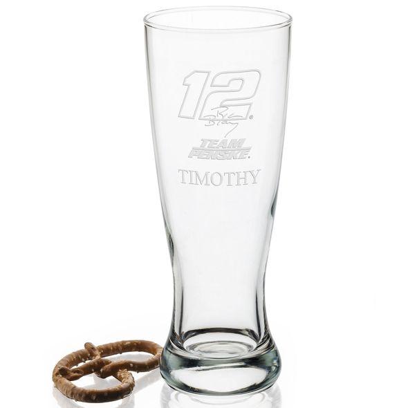 Ryan Blaney 20 oz Pilsner Glass - Image 2