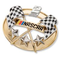 Brad Keselowski Brooch Pin with #2