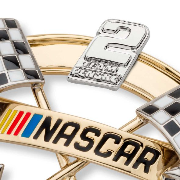 Brad Keselowski Brooch Pin with #2 - Image 2