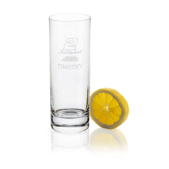 Brad Keselowski Iced Beverage Glass