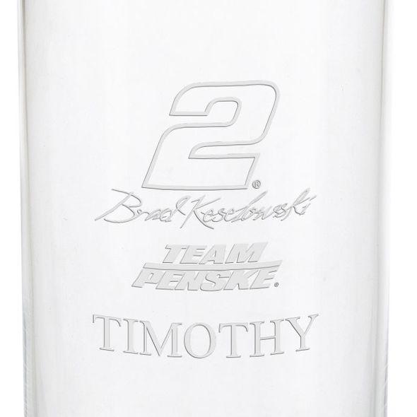 Brad Keselowski Iced Beverage Glass - Image 3
