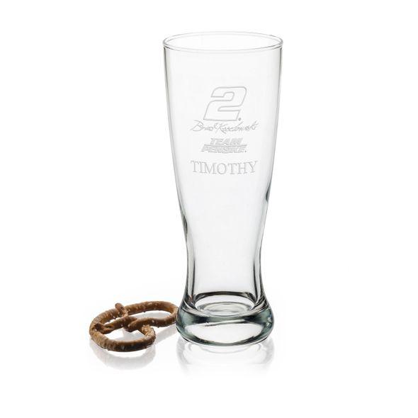 Brad Keselowski 20 oz Pilsner Glass