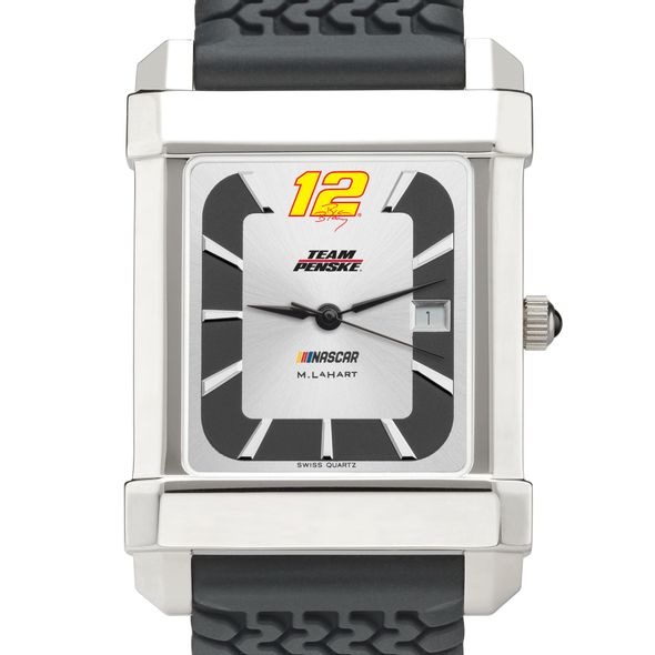 Ryan Blaney #12 Speedway Watch with Rubber Strap