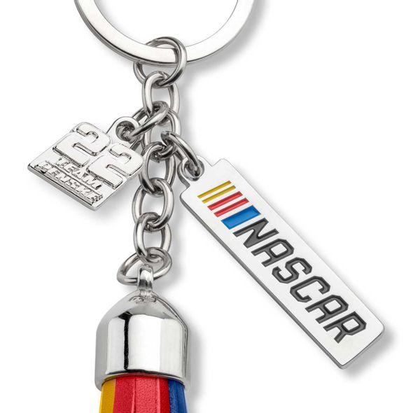 Joey Logano #22 Tassel Key Fob - Image 2