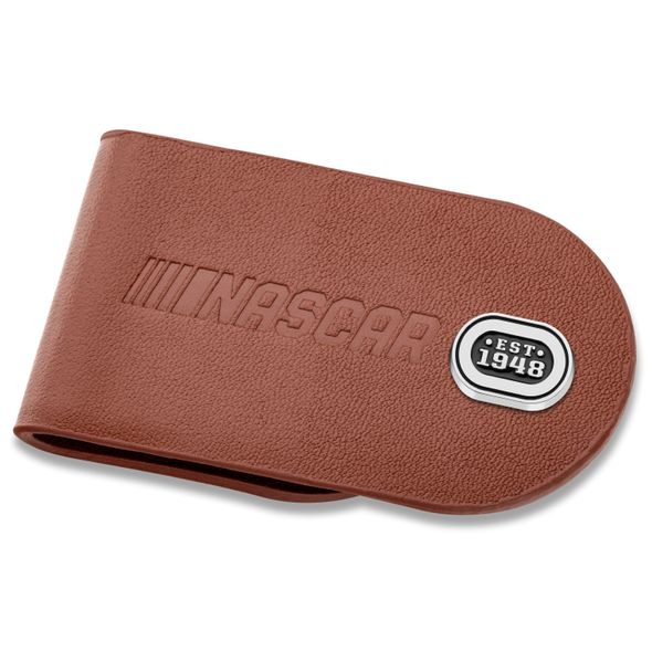 NASCAR Leather Money Clip
