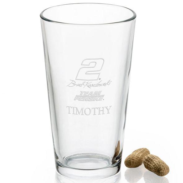 Brad Keselowski Pint Glass - Image 2