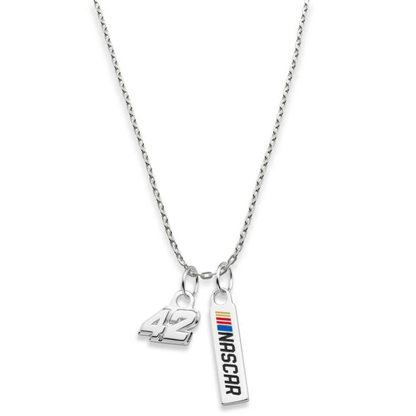 Kyle Larson Pendant on Chain - Image 1