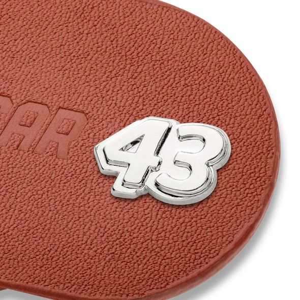 Bubba Wallace #43 Leather Money Clip - Image 2