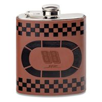 Dale Earnhardt Jr. Retro Leather Flask
