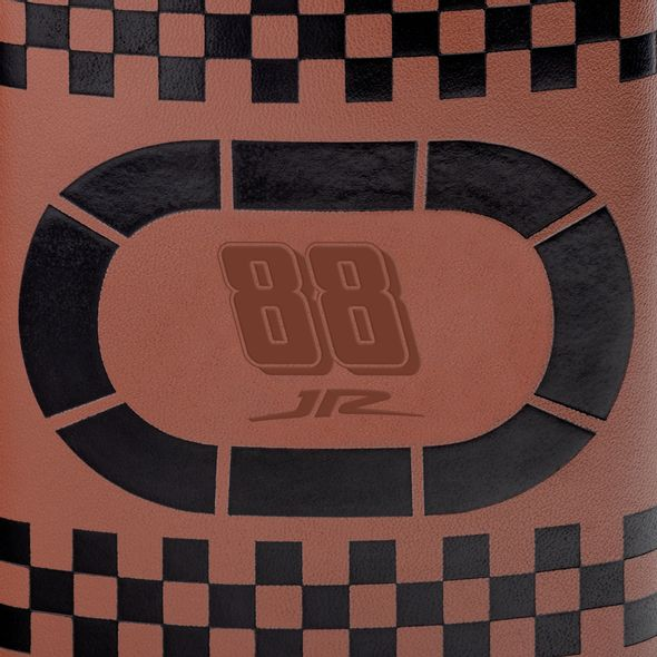 Dale Earnhardt Jr. Retro Leather Flask - Image 2