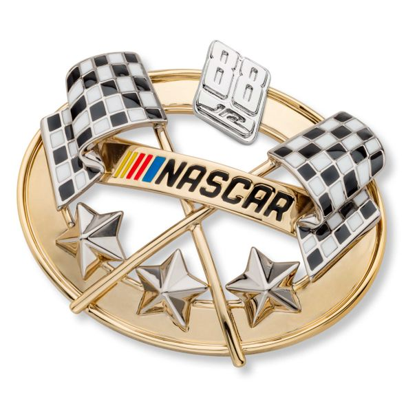 Dale Earnhardt Jr. Brooch Pin with #88 - Image 1