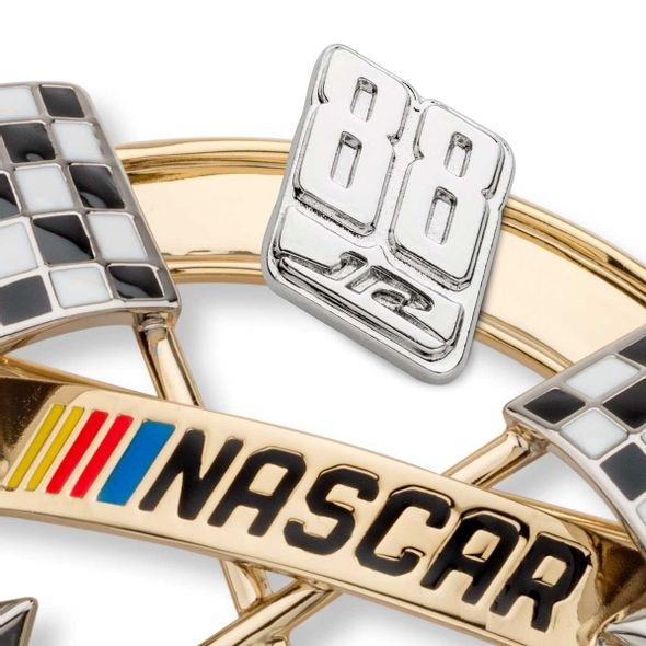 Dale Earnhardt Jr. Brooch Pin with #88 - Image 2