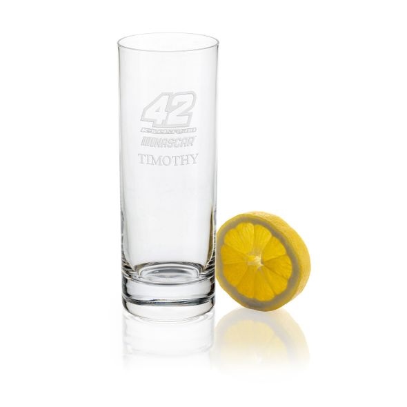 Kyle Larson Iced Beverage Glass
