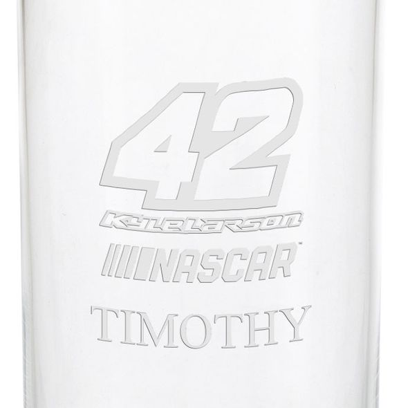 Kyle Larson Iced Beverage Glass - Image 3