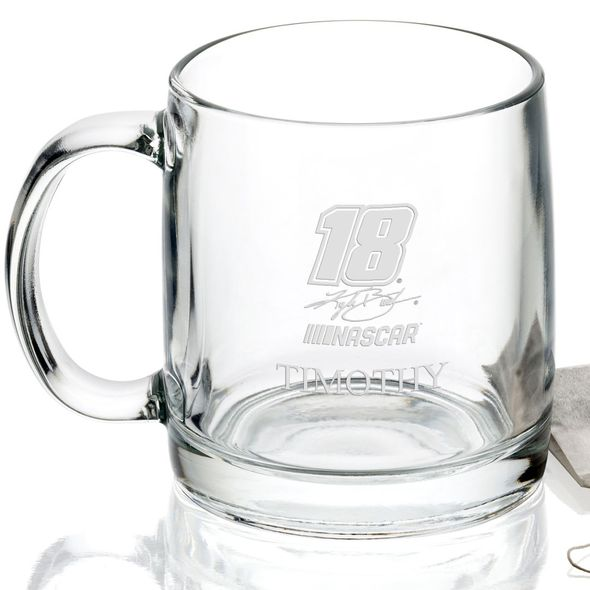 Kyle Busch Glass Coffee Mug - Image 2
