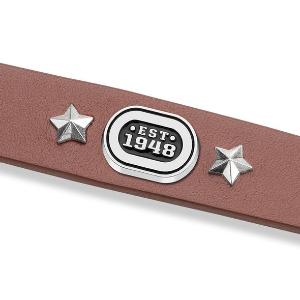 NASCAR Leather Bracelet with EST.1948 Rivet - Image 2