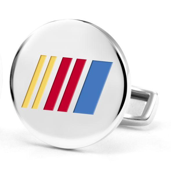 NASCAR Cufflinks in Sterling Silver with Enamel - Image 2