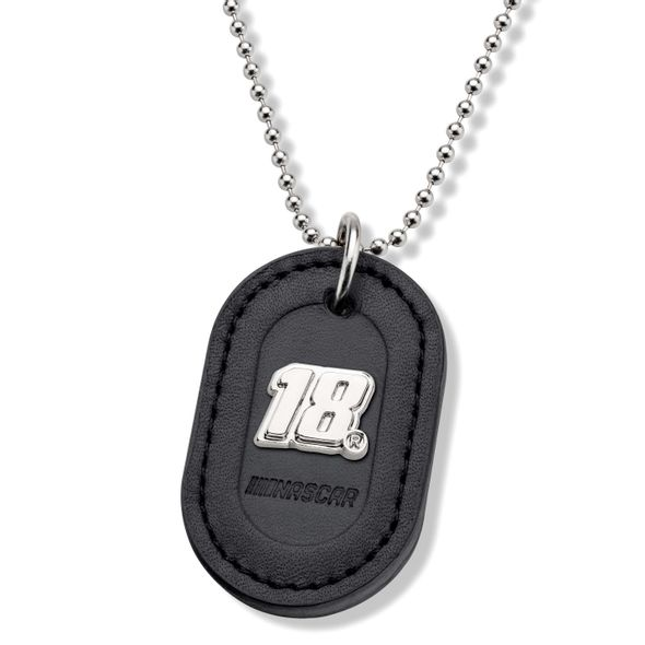 Kyle Busch #18 Dog Tag with Chain