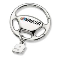 Chase Elliott Steering Wheel Key Ring with #9 Charm